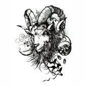 Goat Tattoo icon