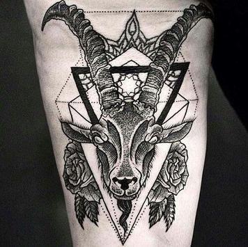 Goat Tattoo poster