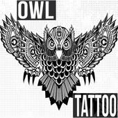 Owl Tattoo icon