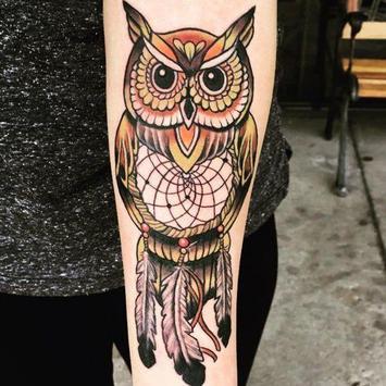 Owl Tattoo screenshot 3