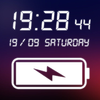 Digital Clock & Battery Charge icon