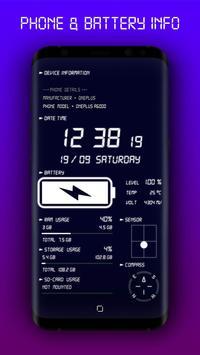 Jam Digital & Cas Bateri syot layar 1