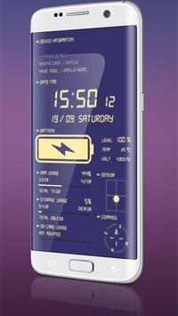 Jam Digital & Cas Bateri syot layar 2