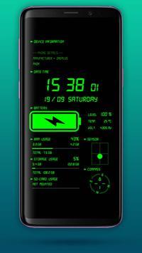 Jam Digital & Cas Bateri syot layar 3