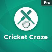 Live Cricket Craze Pro icon
