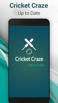 Live Cricket Craze Pro poster