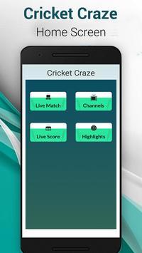Live Cricket Craze Pro screenshot 2