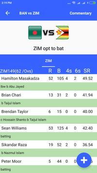 Live Cricket Score 2019 screenshot 2