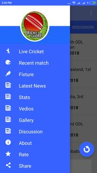 Live Cricket Score 2019 screenshot 5