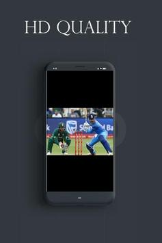 Live Cricet TV Streaming With HD Quality screenshot 1