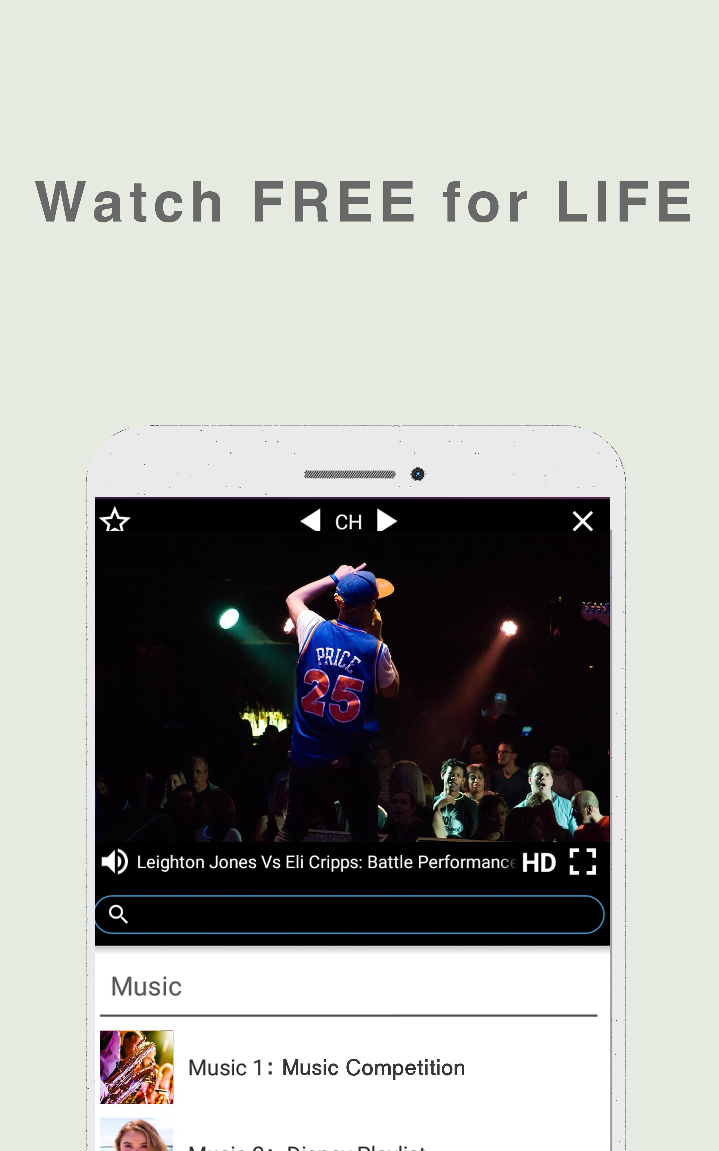 Free TV/Music App Download Now for Android - APK Download