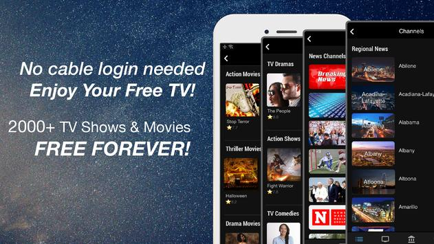 (US only) Free TV App: TV Series Affiche