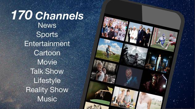 (US only) Free TV App: TV Series capture d'écran 1