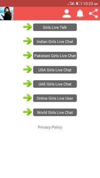 Live Girls Chat Meet screenshot 1