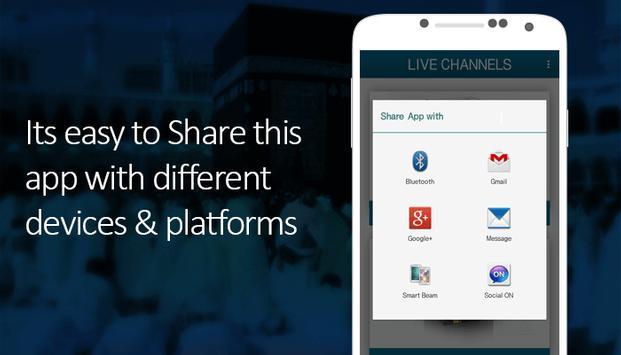 Makkah & Madina Live Streaming screenshot 10
