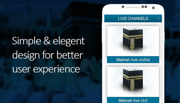 Makkah & Madina Live Streaming screenshot 1