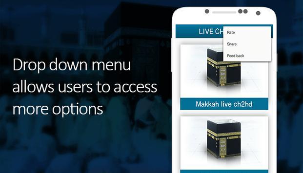 Makkah & Madina Live Streaming screenshot 2