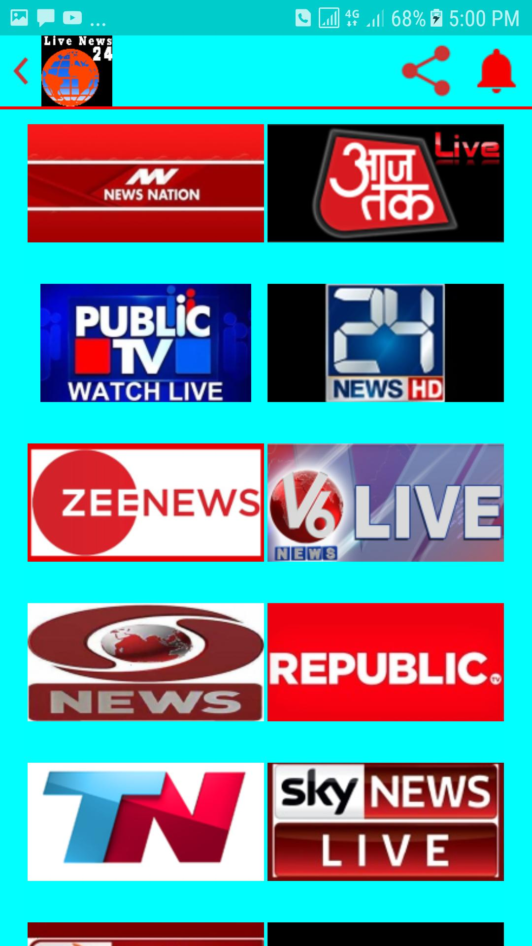INDIAN NEWS CHANNELS for Android - APK Download