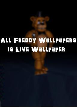 Freddy Live Wallpaper poster
