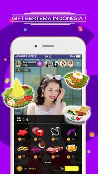 Sugarlive - Live Stream Indonesian Content screenshot 3
