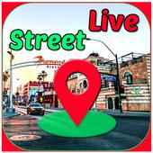 Street View Live Maps GPS Coordinates  My Location icon