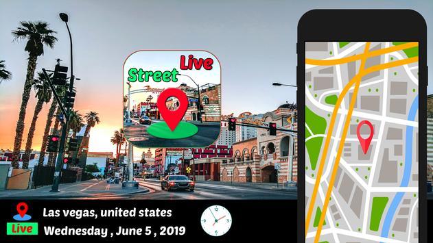 Street View Live Maps GPS Coordinates  My Location screenshot 1