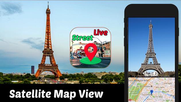 Street View Live Maps GPS Coordinates  My Location screenshot 3