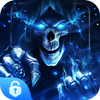 Horrible Skull Lock Screen HD - Color Call Flash 아이콘