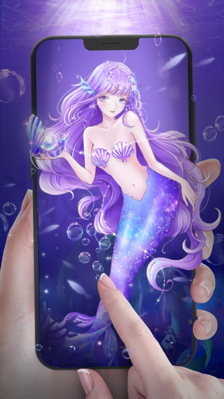 Anime Mermaid Princess Live Wallpaper For Android Apk Download