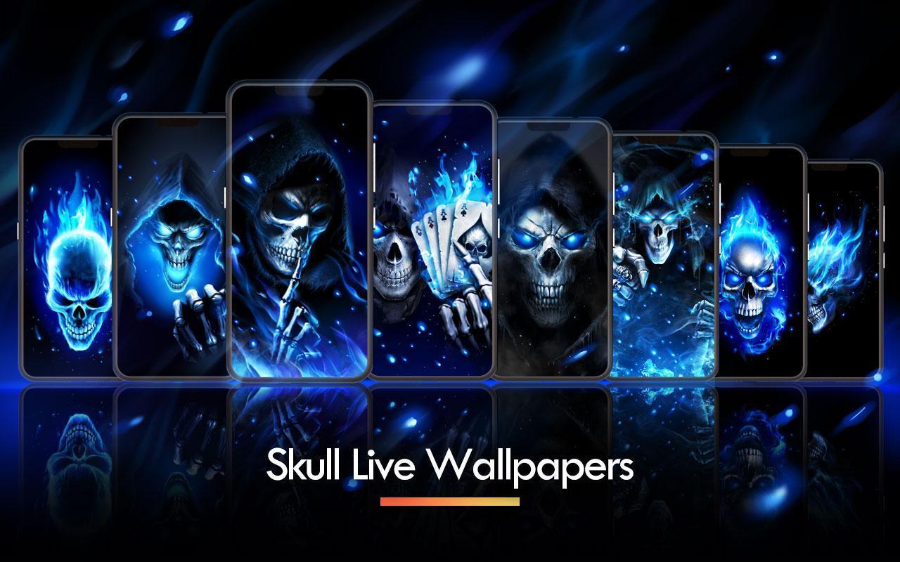 Download 400+ Wallpaper Biru Tengkorak  Gratis