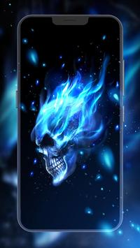 Flaming Skull screenshot 1