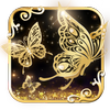 Gold Butterfly icon