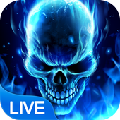 Horrible Flame Skull icon