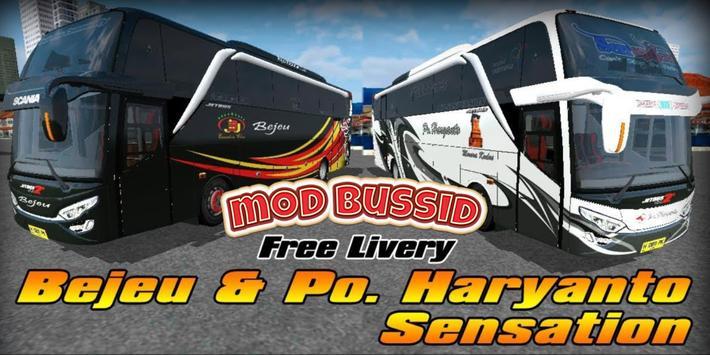 Mod Livery Bussid PO Haryanto screenshot 1