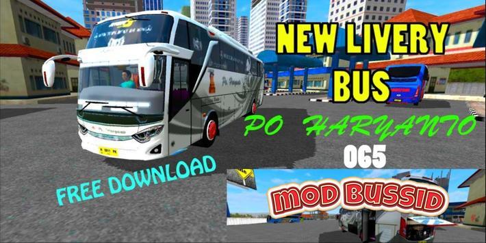 Mod Livery Bussid PO Haryanto screenshot 2