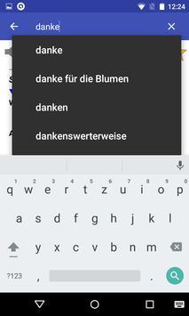 German Dictionary Offline screenshot 4