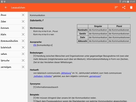 German Dictionary Offline screenshot 12