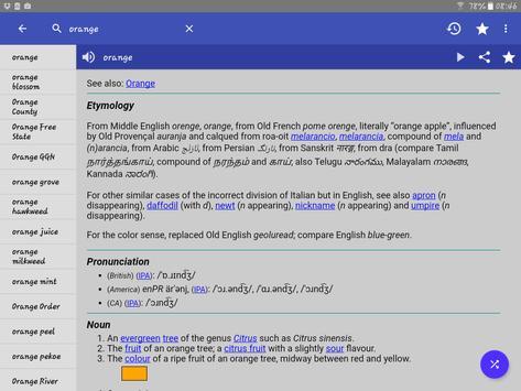8 Schermata Dizionario Inglese - Offline