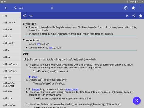 10 Schermata Dizionario Inglese - Offline