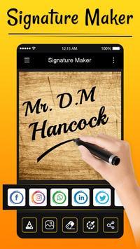 Signature Maker screenshot 4
