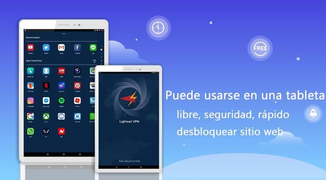 Lightsail VPN captura de pantalla 5