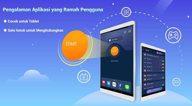 Free VPN Lightsail   Ultra Fast & Better VPN Proxy syot layar 4