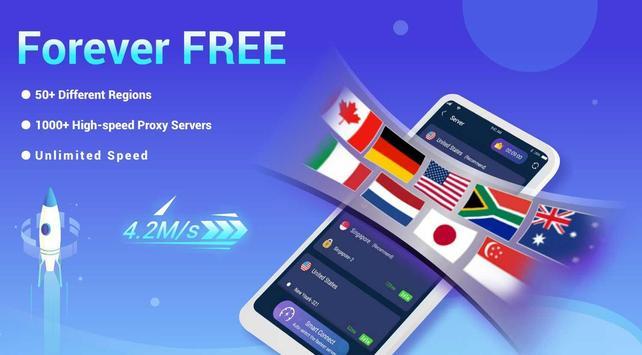 Free VPN Lightsail | Ultra Fast & Better VPN Proxy poster