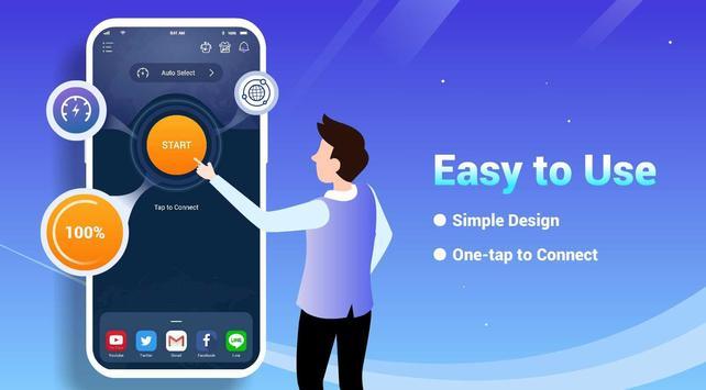 Free VPN Lightsail | Ultra Fast & Better VPN Proxy screenshot 1