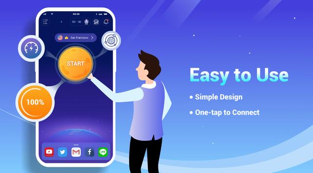 LightSail VPN, unblock websites and apps for free 截圖 1