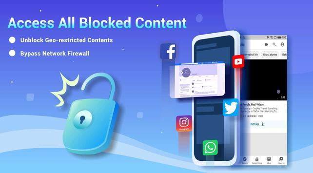 Free VPN Lightsail | Ultra Fast & Better VPN Proxy screenshot 2
