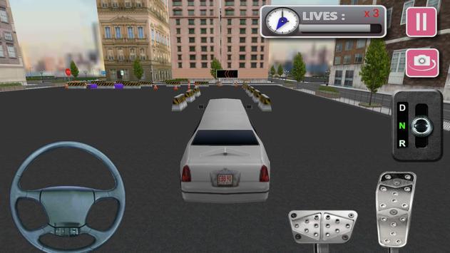 3d Limo Car Driving screenshot 2