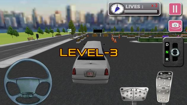 3d Limo Car Driving screenshot 3