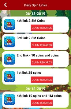 Free Spins and Coins - Daily links and tips 2019 poster