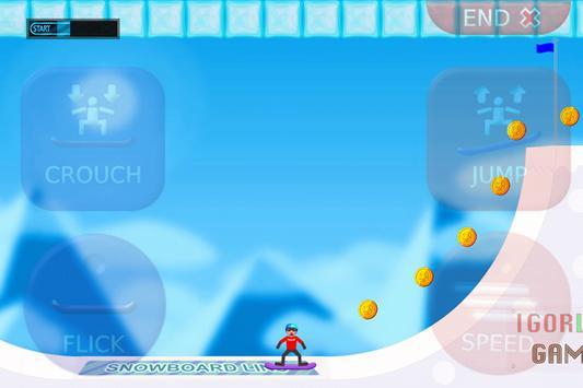 Snowboarding LINS screenshot 1